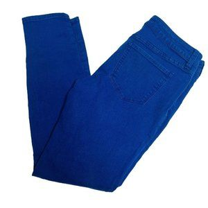 JCP Skinny Jeans Womens Size 30/10 Mid Rise Blue D
